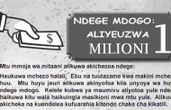 Ndege Mdogo Aliyeuzwa Milioni 1